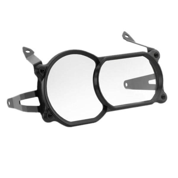 Rizoma Headlamp Cover Black ,Motorcycle Protections