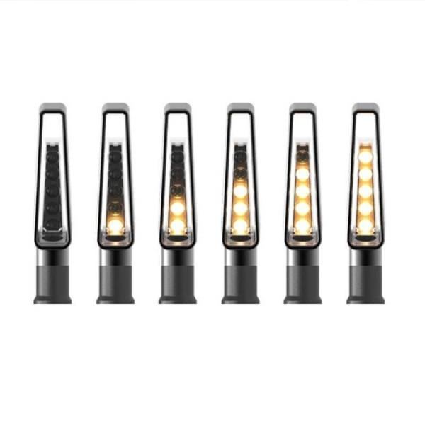 Rizoma Motorcyle Indicator Light VISION Black