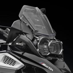 Rizoma Protezione Faro Anteriore Titanio, Protezioni Moto