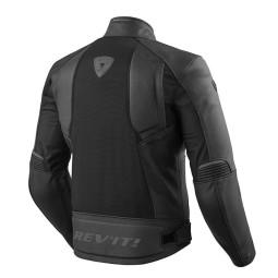 Motorcycle Leather Jacket REVIT Ignition 3 Black