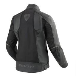 Blouson Moto Cuir REVIT Ignition 3 Femme Noir