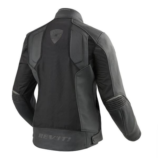 Motorcycle Leather Jacket REVIT Ignition 3 Woman Black