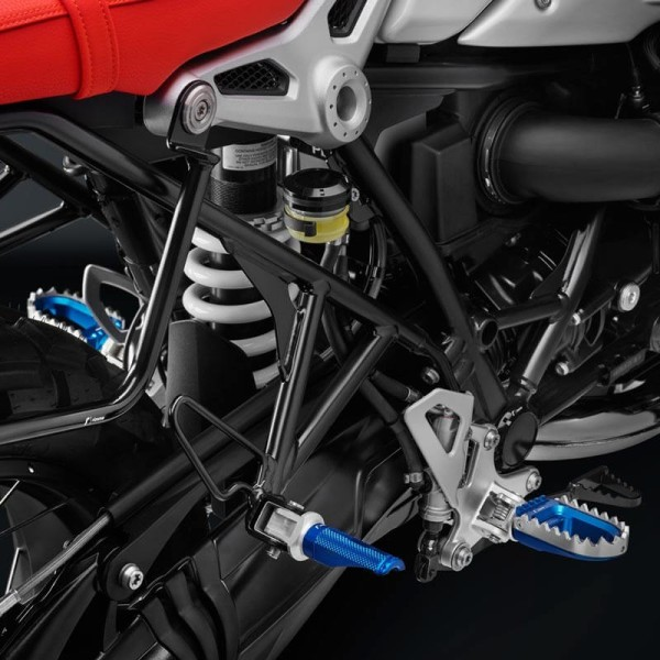 Rizoma RALLY Motorcycle Pegs Blue