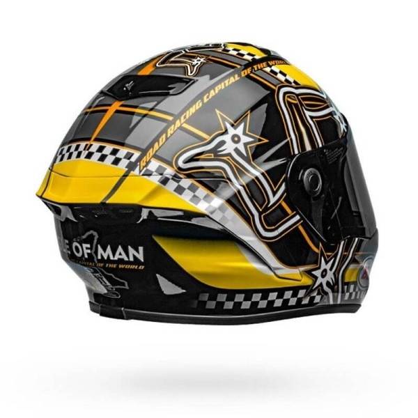 Casque Moto Intégral BELL HELMETS Star Mips Isle of Man Limited Edition