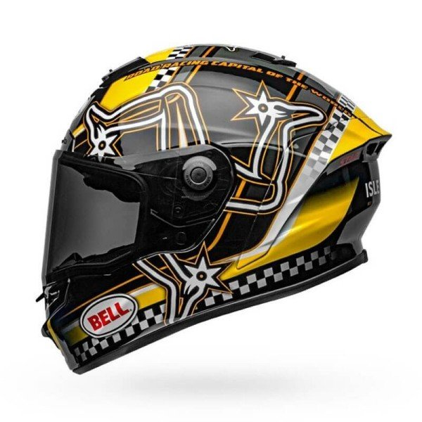 Motorcycle Helmet Full Face BELL HELMETS Star Mips Isle of Man Limited Edition