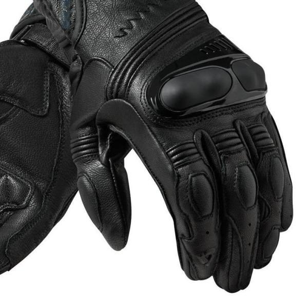 Motorrad-Handschuhe REVIT Metis Schwarz