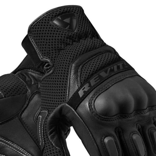 Gants Moto Cuir REVIT Dirt 3 Noir