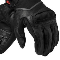 Motorrad-Handschuhe REVIT Summit 3 H2O Schwarz ,Motorrad Lederhandschuhe