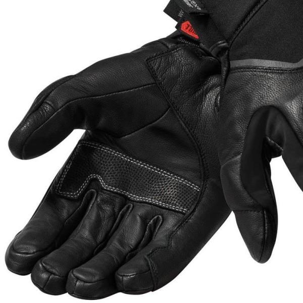 Motorrad-Handschuhe REVIT Summit 3 H2O Schwarz