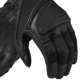 Motorcycle Leather Gloves REVIT Pandora  Black ,Motorcycle Leather Gloves
