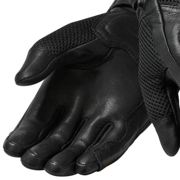 Gants Moto Cuir REVIT Arch Noir