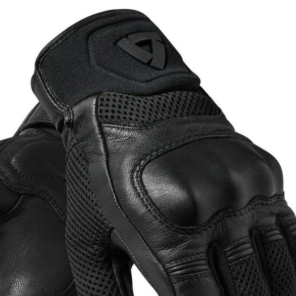 Motorcycle Leather Gloves REVIT Arch Black
