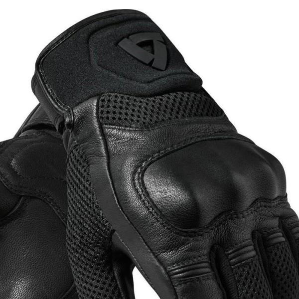 Motorrad-Handschuhe REVIT Arch Schwarz