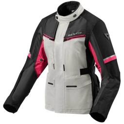 Giubbotto Moto Tessuto REVIT Outback 3 Ladies Argento Fucsia, Giubbotti e Giacche Tessuto Moto