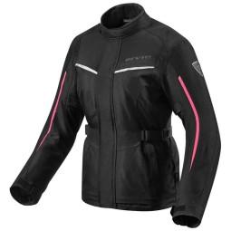 Blouson Moto Tissu REVIT Voltiac 2 Ladies Noir Fuchsia ,Blousons et Vestes Moto Tissu