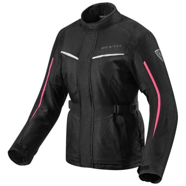 Blouson Moto Tissu REVIT Voltiac 2 Ladies Noir Fuchsia