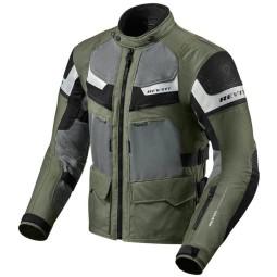 Motorcycle Jacket REVIT Cayenne Pro Green Black ,Motorcycle Textile Jackets