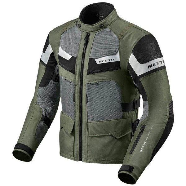 Motorcycle Jacket REVIT Cayenne Pro Green Black