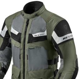 Chaqueta Moto REVIT Cayenne Pro Verde Negro