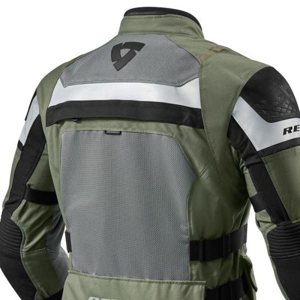 Motorrad Jacke REVIT Cayenne Pro Grun Schwarz