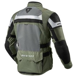 Giacca Moto REVIT Cayenne Pro Verde Nero, Giubbotti e Giacche Tessuto Moto