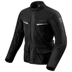 Motorcycle Fabric Jacket REVIT Voltiac 2 Black  ,Motorcycle Textile Jackets