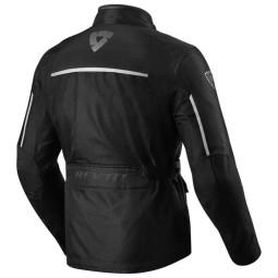 Giubbotto Moto Tessuto REVIT Voltiac 2 Nero Argento , Giubbotti e Giacche Tessuto Moto