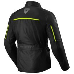 Giubbotto Moto Tessuto REVIT Voltiac 2 Nero Giallo Neon, Giubbotti e Giacche Tessuto Moto