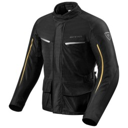 Chaqueta Tela Moto REV'IT Voltiac 2 Negro Bronce