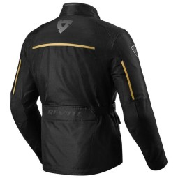 Motorcycle Fabric Jacket REVIT Voltiac 2 Black Bronze ,Motorcycle Textile Jackets