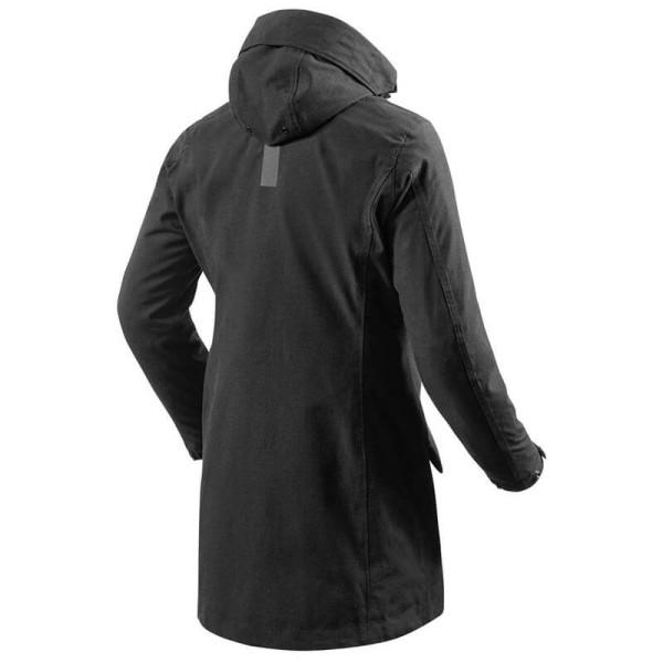 Motorcycle Fabric Jacket REVIT Metropolitan Ladies Black