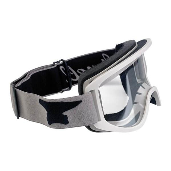 Motorcycle Goggles BILTWELL Inc Moto 2.0 Script Titanium OTG