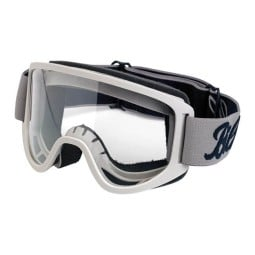 Motorcycle Goggles BILTWELL Inc Moto 2.0 Script Titanium OTG ,Motorcycle Goggles / Masks