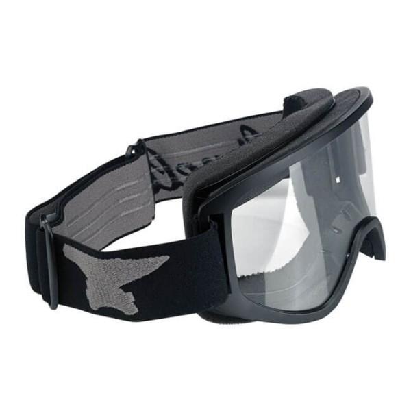 Motorcycle Goggles BILTWELL Inc Moto 2.0 Script Black OTG