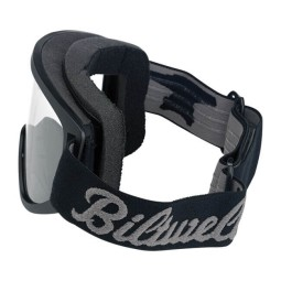 Motorcycle Goggles BILTWELL Inc Moto 2.0 Script Black OTG ,Motorcycle Goggles