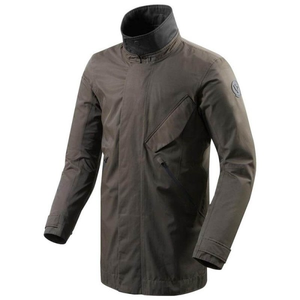 Motorcycle Fabric Jacket REVIT Wayne Dark Green