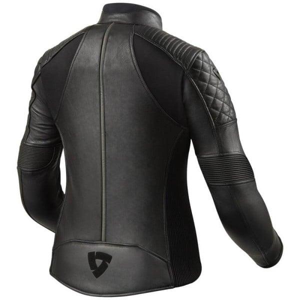 Motorcycle Leather Jacket REVIT Luna Ladies Black