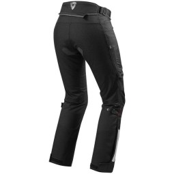 Motorcycle Pants REVIT Horizon 2 Ladies Black, Motorcycle trousers