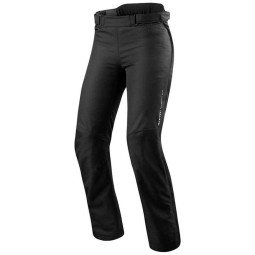 Motorcycle Pants REVIT Varenne Ladies Black, Motorcycle trousers