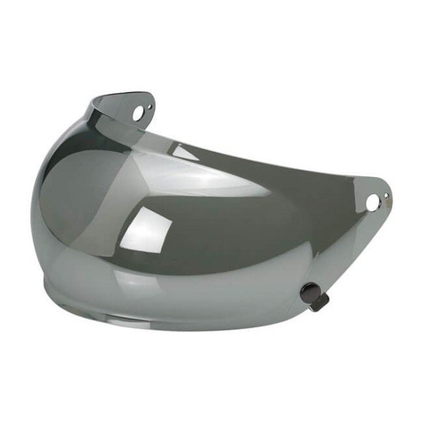 Visor BILTWELL Inc Moto Gringo S Bubble Shield Chrome Mirror ,Visors and Accessories