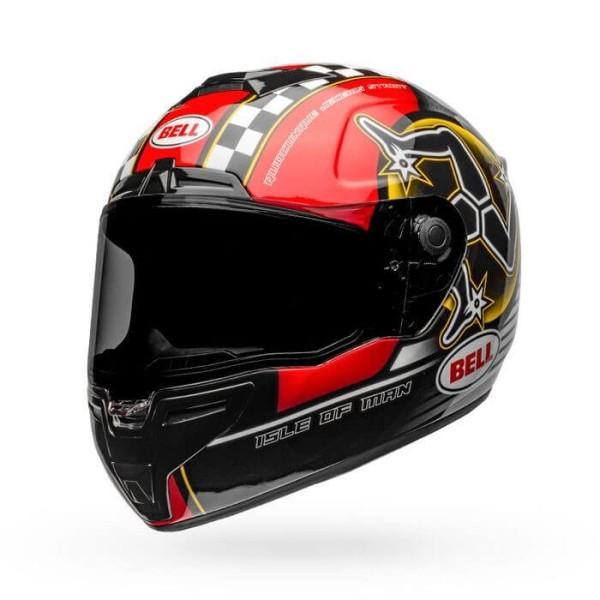 Motorcycle Helmet Full Face BELL HELMETS SRT Isle of Man