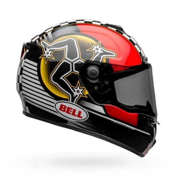 Motorrad Integral Helm BELL HELMETS SRT Isle of Man