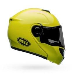 Motorrad Helm Modular BELL HELMETS SRT Transmit Hi Viz ,Modularhelme