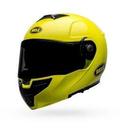 Motorcycle Helmet Modular BELL HELMETS SRT Transmit Hi Viz ,Modular Helmets