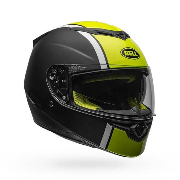 Casque Moto Intégral BELL HELMETS RS-2 Rally Black Hi Viz