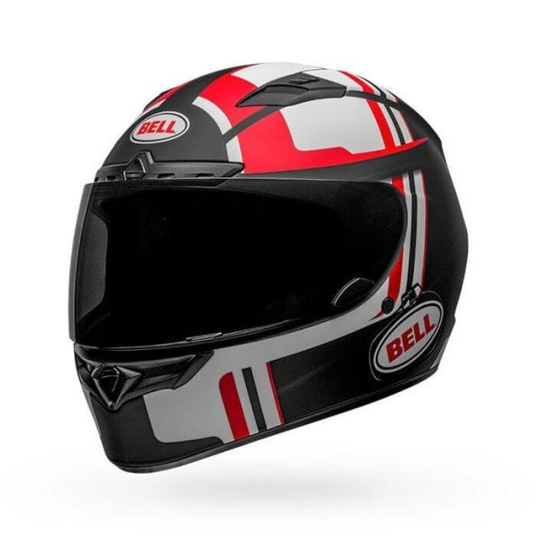 Motorcycle Helmet BELL HELMETS Qualifier DLX MIPS Torque Black Red