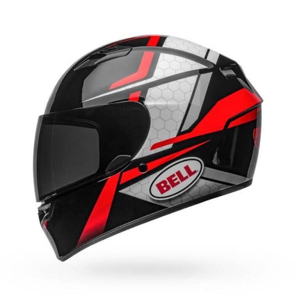 Motorcycle Helmet Full Face BELL HELMETS Qualifier Flare Black Red