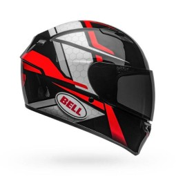 Casco Moto Integral BELL HELMETS Qualifier Flare Black Red