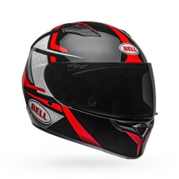 Casco Moto Integrale BELL HELMETS Qualifier Flare Black Red, Caschi Integrali