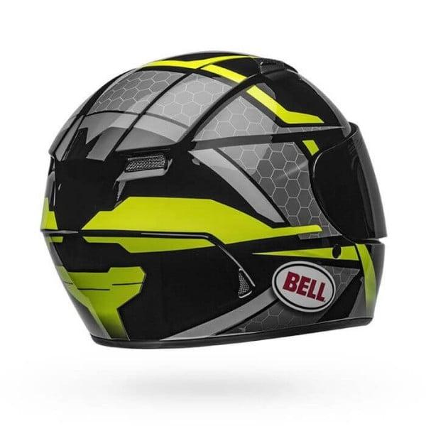 Motorcycle Helmet Full Face BELL HELMETS Qualifier Flare Black Yellow